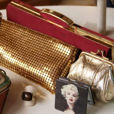 Taschen Rot Gold